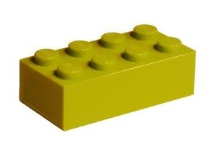 standard LEGO brick