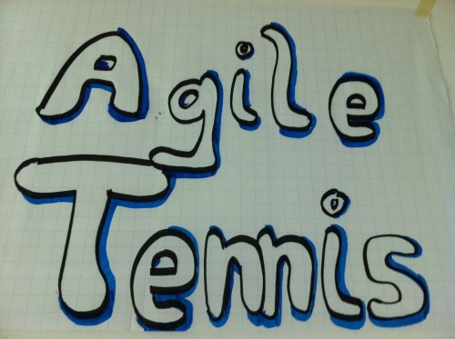 Agile Tennis draw