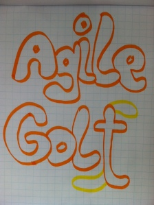 Agile Golf drawing