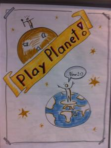 play planet drawing